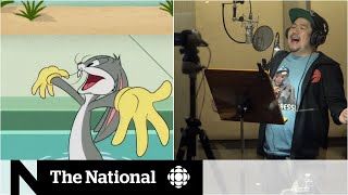 The Canadian behind the voice of Bugs Bunny