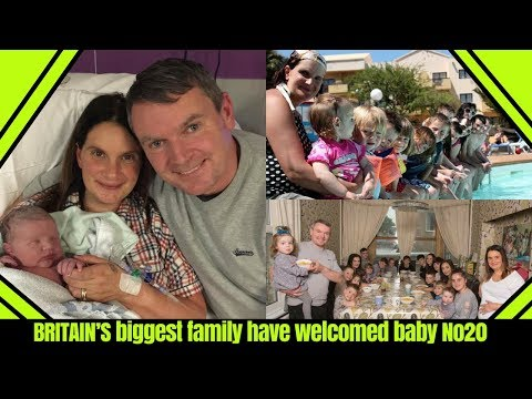 BRITAIN'S biggest family have welcomed baby No20 | Sue Radford Mother of Britain's Biggest Family