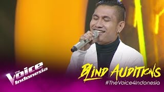 Tommy - Tak Pernah Setengah Hati | Blind Auditions | The Voice Indonesia GTV 2019