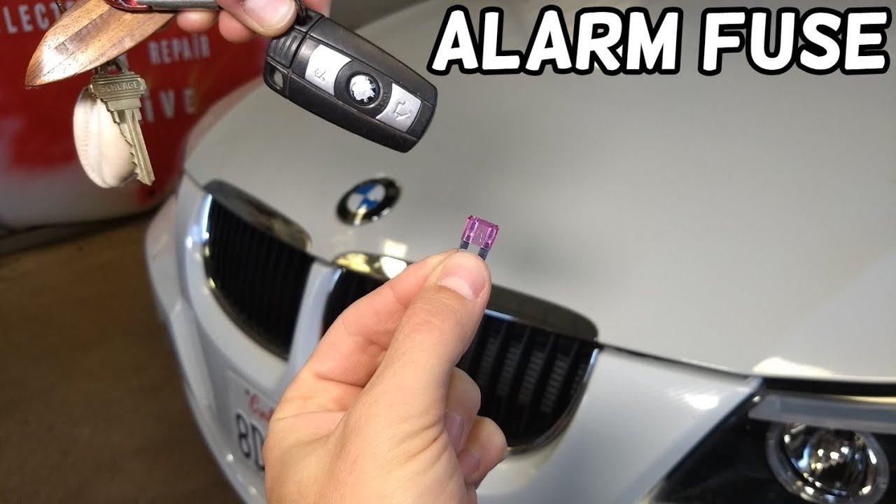 Alarm System Fuse Location Bmw E90 E91 E92 E93 Youtube