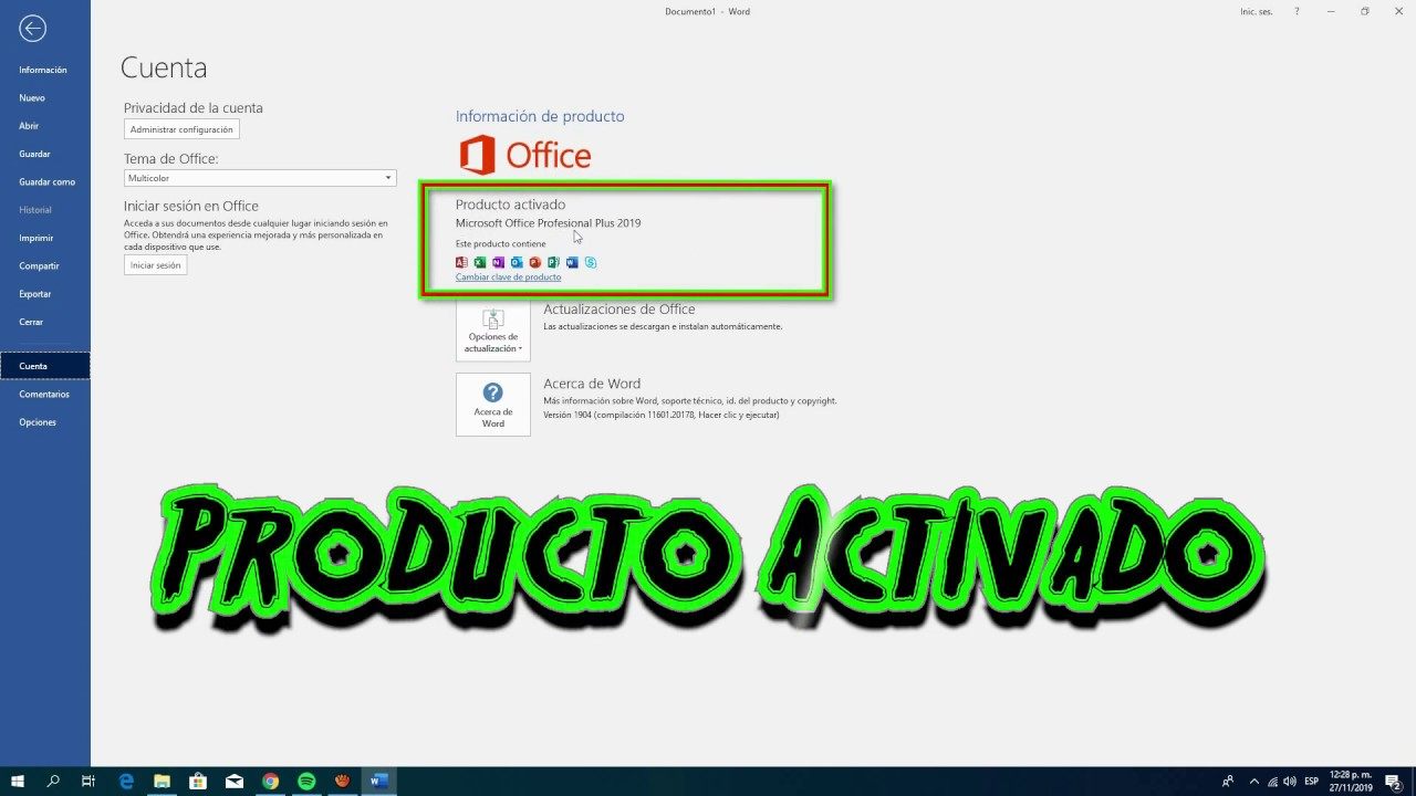 Activador Office 2019 Professional Plus Gendmacorbu S Ownd