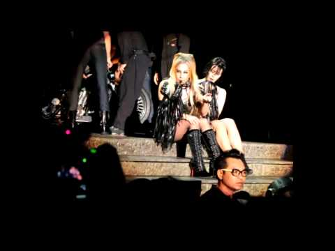 Lady Gaga sings happy birthday song to a 19-year-old young lady at Singapore Born This Way Ball