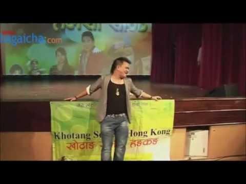 wilson bikram rai in hong kong video courtesy bagaicha.com