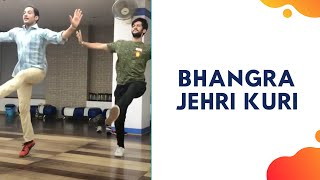 BHANGRA (DANCE) ON Jehri Kuri | Manak-E  | Choreography by Chirag | DanceWithChirag