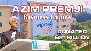 Azim Premji Business Empire (Donated $21 Bln) | How big is Wipro?