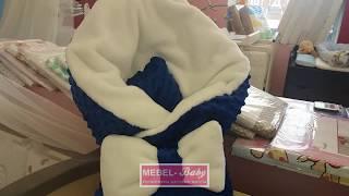 Обзор конверта-одеяла плюш+махра Осень 7-02 Добрый Сон