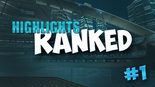 Ranked highlights #1 [ rocket league ] fr