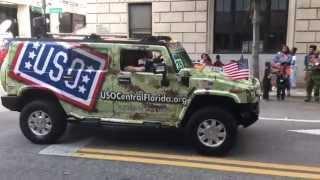 City of Orlando Veterans Parade 2015