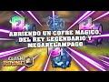 ABRIENDO UN COFRE MAGICO, DEL REY LEGENDARIO Y MEGARELAMPAGO EN CLASH ROYALE   MrPizza21