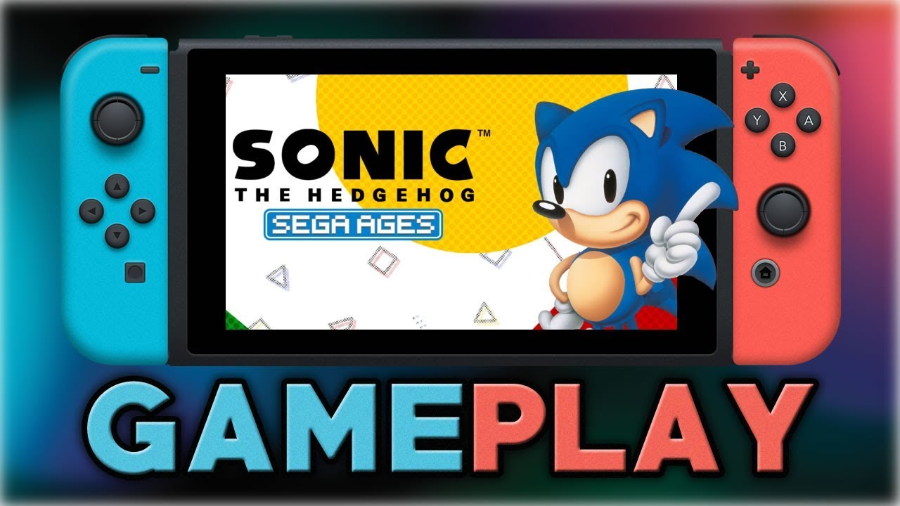 Sega Ages Sonic The Hedgehog First 10 Minutes Nintendo Switch Youtube