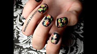 Как сделать цветной стемпинг для ногтей: видео уроки