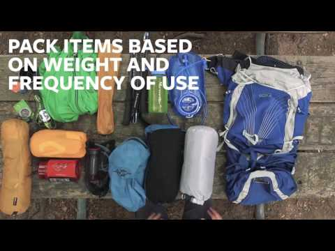 Moosejaw Gear Guide-How to Pack Your Pack
