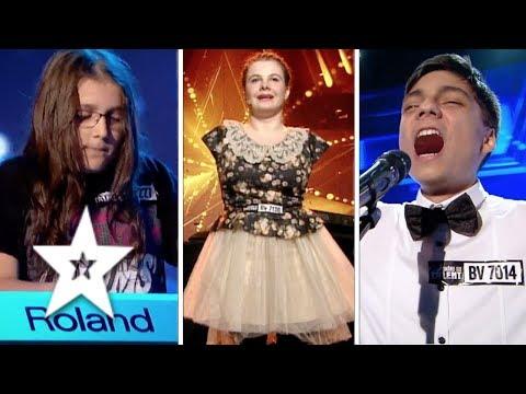 Best KIDS Auditions on Romania's Got Talent   Românii au talent 2017   Part One