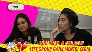Video LUNA MAYA & AYU DEWI LEFT GROUP GANK MENTRI CERIA!!! download MP3, 3GP, MP4, WEBM, AVI, FLV Agustus 2018