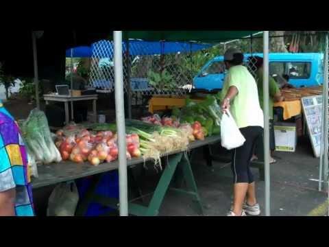 Punanga Nui Markets. Avarua  Rarotonga