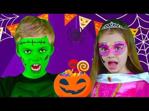 Toc, Toc. ¿Truco O Trato? | Canciones De Halloween |  Nick And Poli Canciones Infantiles