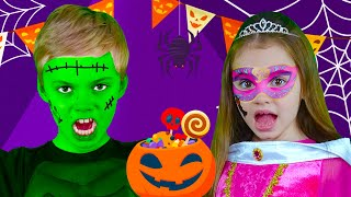 Toc, Toc. ¿Truco o Trato? | Canciones de Halloween |  Nick and Poli Canciones Infantiles