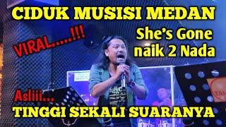 Download Lagu TINGGI SEKALI SUARANYA || SHE'S GONE DI NAIKIN 2 || CIDUK NINETY NINE BAND mp3
