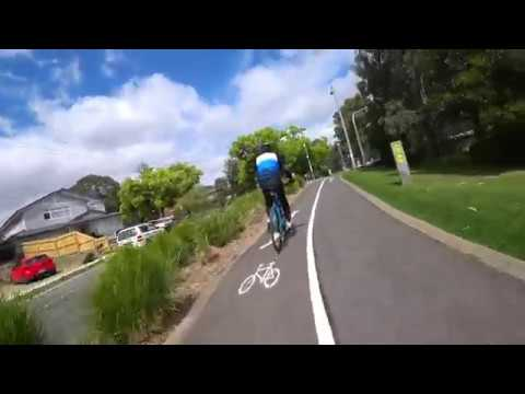 Cycling From Melbourne Southbank To Malvern East