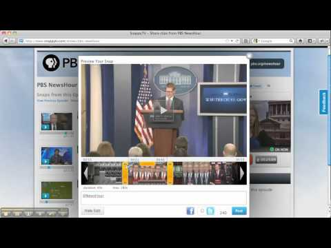 Using SnappyTV to Create Instant Highlights of Live TV