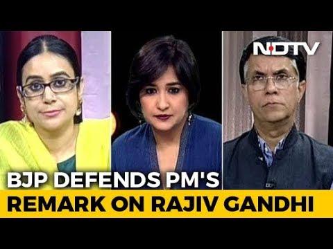 PM Modi's Rajiv Gandhi Remark: A New Low?