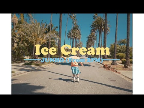 JUNHO (From 2PM) 『Ice Cream』ミュージックビデオ