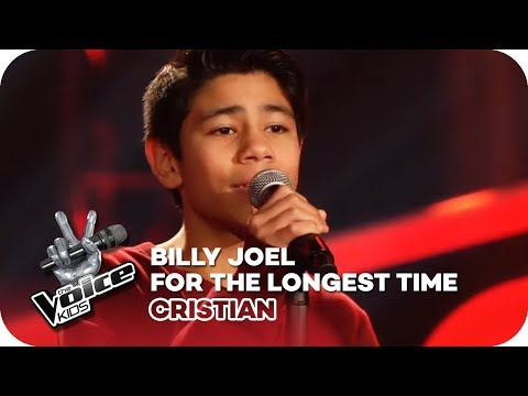 Billy Joel - The Longest Time (Cristian) | Blind Auditions | The Voice Kids 2018 | SAT.1