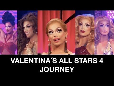 Valentina's All Stars 4 Journey (Rupaul's Drag Race)