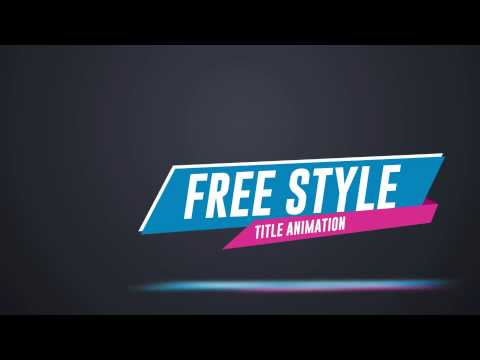 50 Stylish Title Animation| VideoHive Templates | After Effects ...