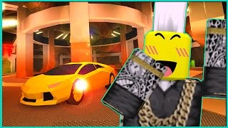 SECRET CRIMINAL BASE WITH A SUPER CAR (Roblox Jailbreak)