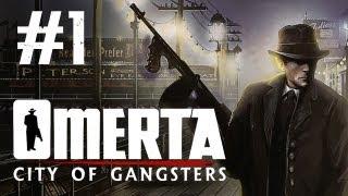 Omerta - City of Gangsters Walkthrough Part 1 - So It Starts (Omerta Walkthrough Let's Play)