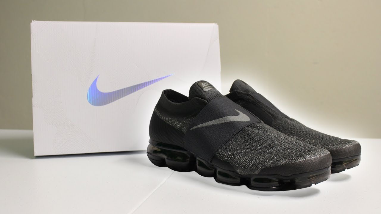 "482cb8b59453 Unboxing Vapormax Moc ""Midnight Fog""  Sneaker Unboxing  - YouTube"