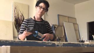 Encaustic Painting Process: Studio Visit with Alicia Tormey