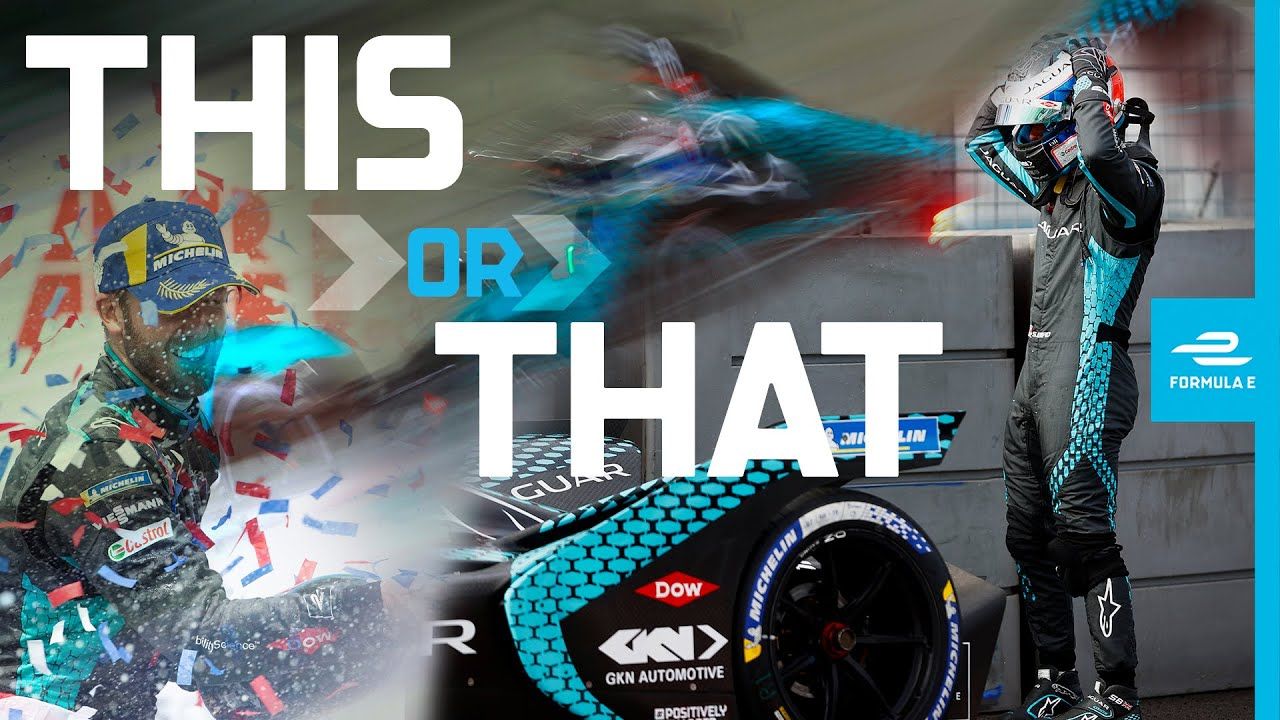 THIS OR THAT With Formula E Drivers