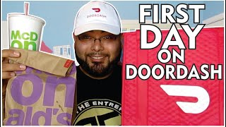 How Much We Made in DoorDash in One Day!!