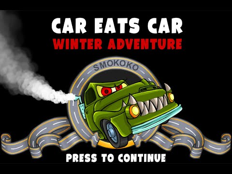 Car Eats Car Winter Adventure Game Walkthrough