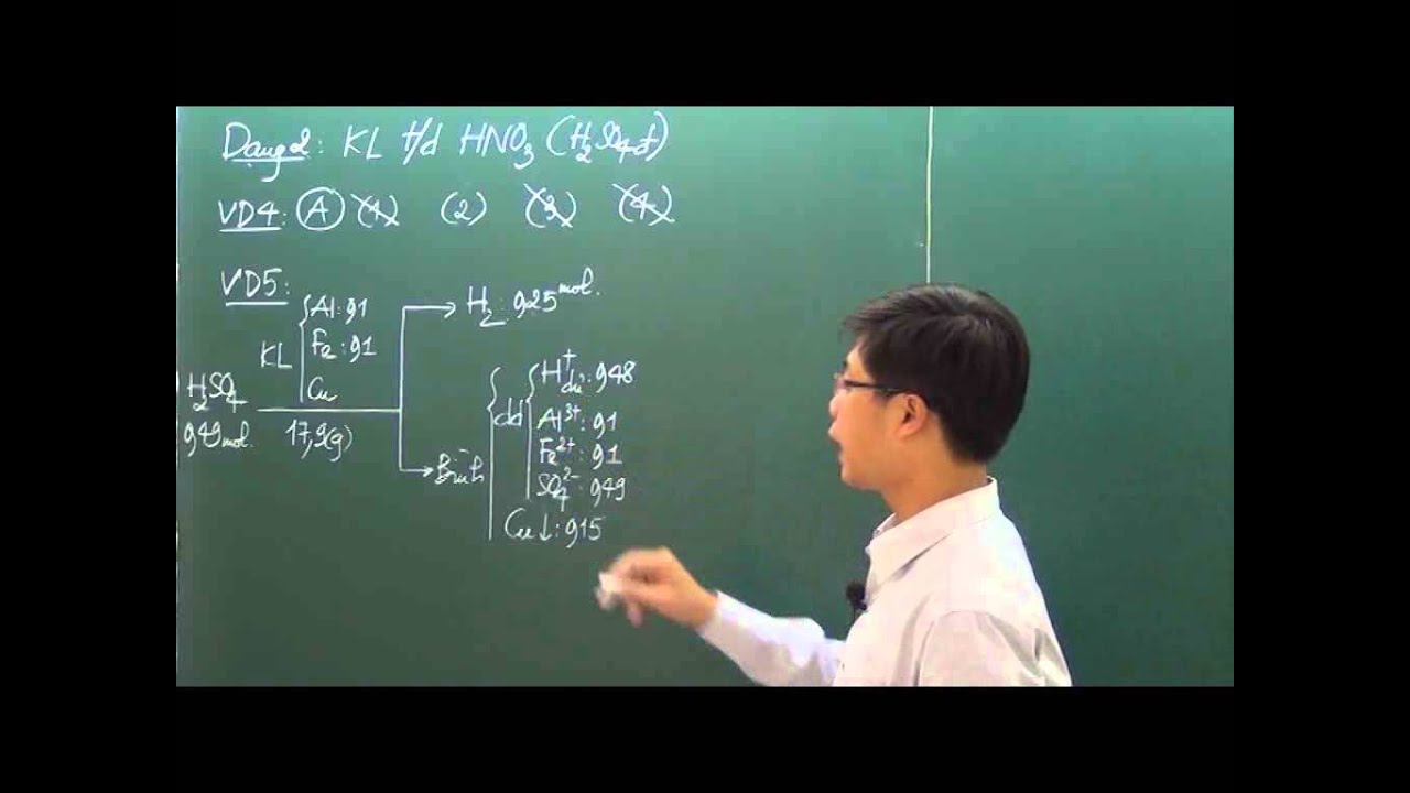16 Bài tập nâng cao về Kim loại tác dụng với Acid phần 116 5