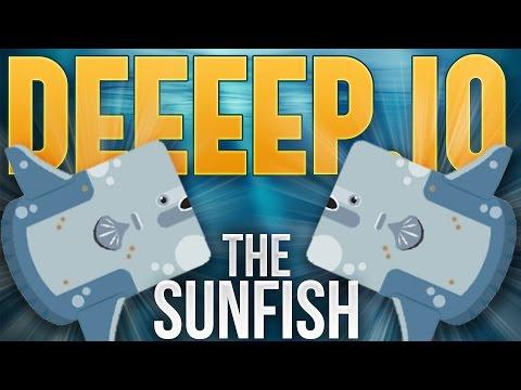 Deeeep.io - The Sunfish - Best Fish In The Sea - 1.5 million Score - Deeeep.io Gameplay Highlights