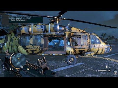 Boss Fight & Friend Rescue Mission - Helicopter Mission - Far Cry 3