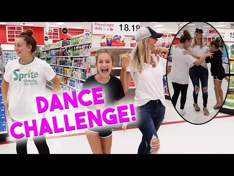 Triangle Dance Challenge in PUBLIC!