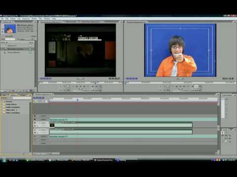 Adobe Premiere Pro | Bluescreen Effect Tutorial