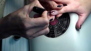 Техника нанесения лака (уроки дизайна ногтей) Nail art tutorials