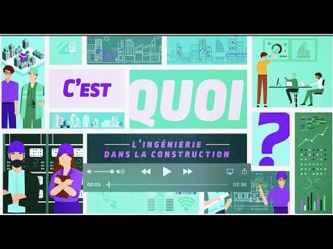 Ingénierie dans la construction - C'est quoi ?