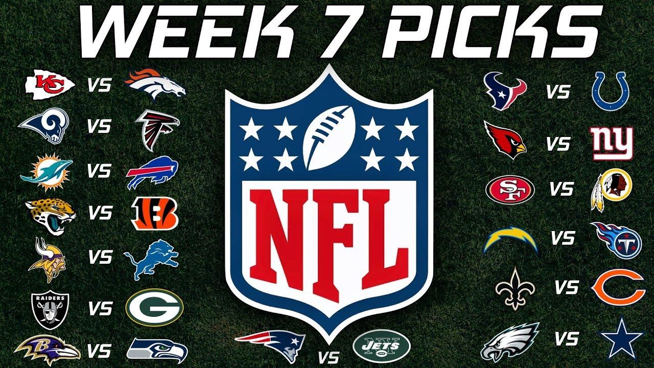 Image result for nfl week 7 picks