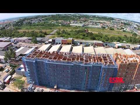 Estal Andaimes | Envelopamento de obras com andaimes fachadeiros