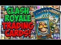 Unboxing OFFICIAL Clash Royale Trading Cards!