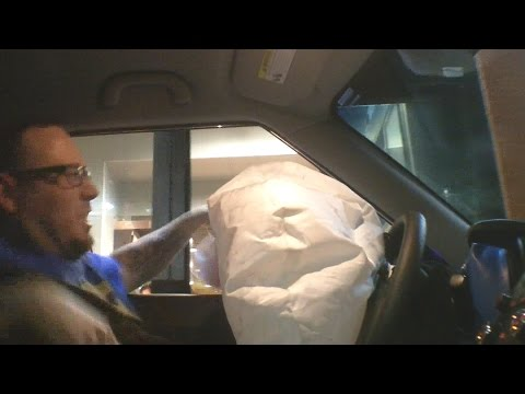 HOW TO MAKE A REALISTIC CAR AIRBAG DEPLOYMENT