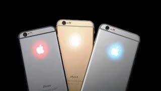 Светящееся яблоко на iPhone 6s и iPhone 6s Plus своими руками