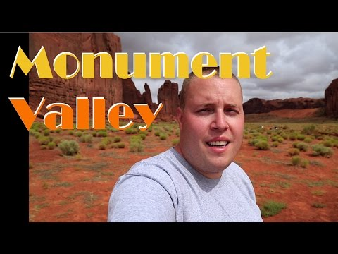 Travel Photography - Monument Valley on the Arizona and Utah Border vlog
