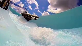 [HD] Teamboat Springs : Family Raft Waterslide - Blizzard Beach (Orlando, FL)